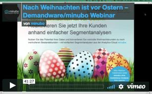 Demandware Ostergeschäft Webinar