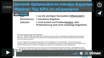 Top KPIs im eCommerce Webinar