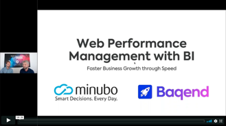 Webinar_Baqend_minubo_WebPerformance with BI